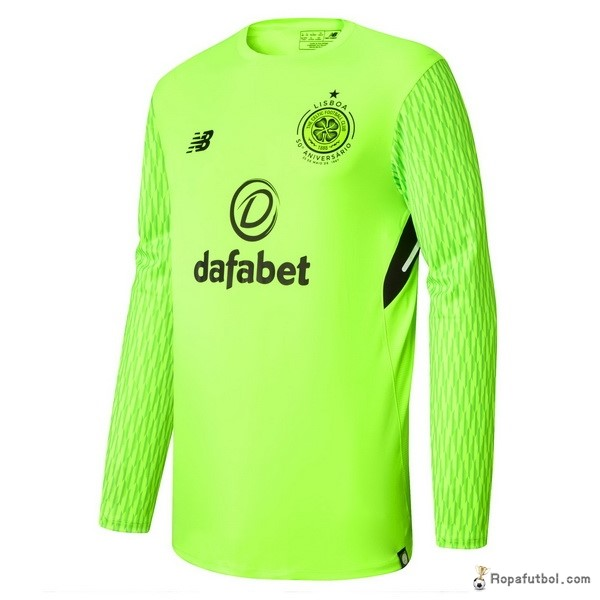 Camiseta Celtic Replica Primera Ropa ML Portero 2017/18